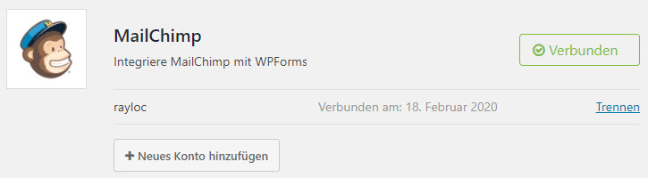 wpforms Mailchimp Integration